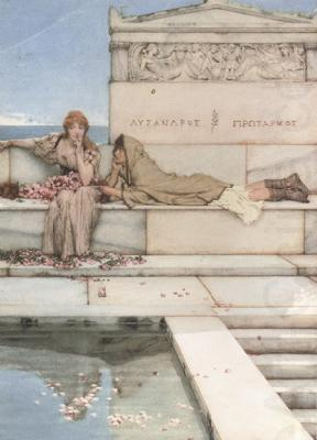Xanthe and Phaon (mk23), Alma-Tadema, Sir Lawrence